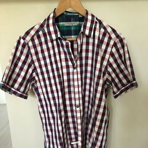 Ted Baker short sleeve button down